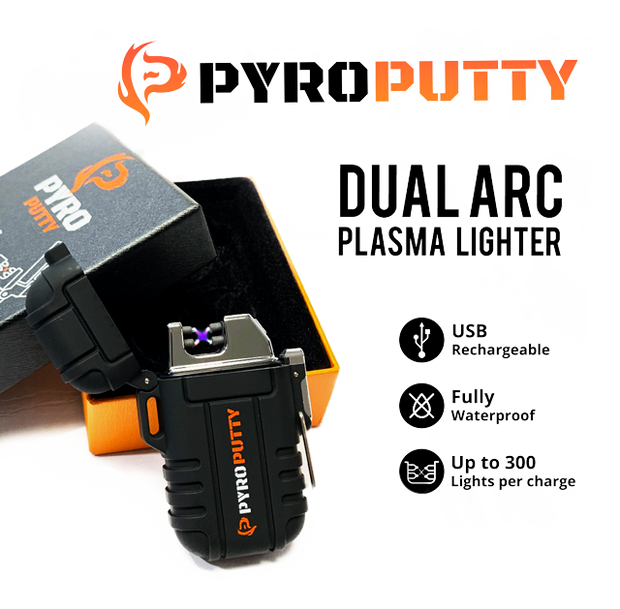 Pyro Putty Dual Arc Lighter