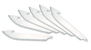 "Outdoor Edge - 3.5"" RAZORSAFE™ SERIES DROP-POINT REPLACEMENT BLADES"