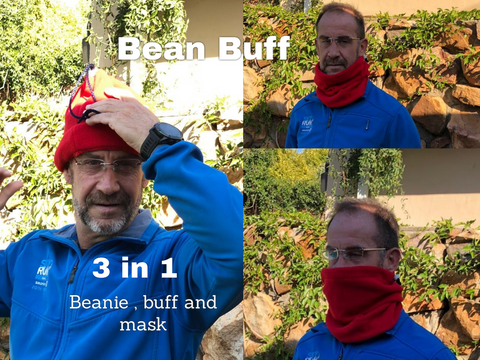 Bean Buff 3 in 1 Red