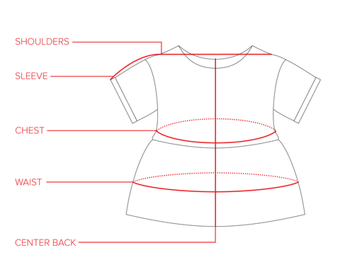 Nico Short Sleeve Size Guide