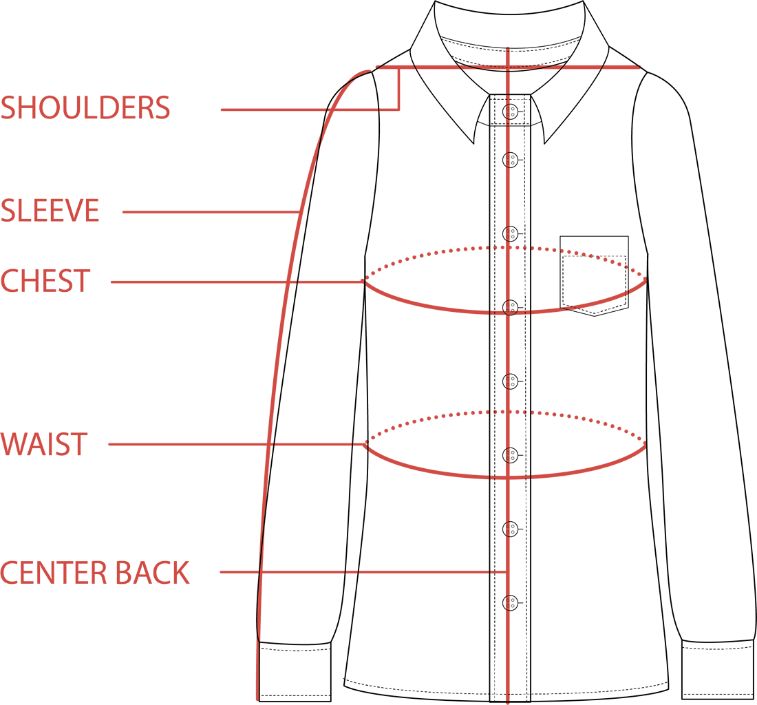 Flannel Size Guide | Tradlands