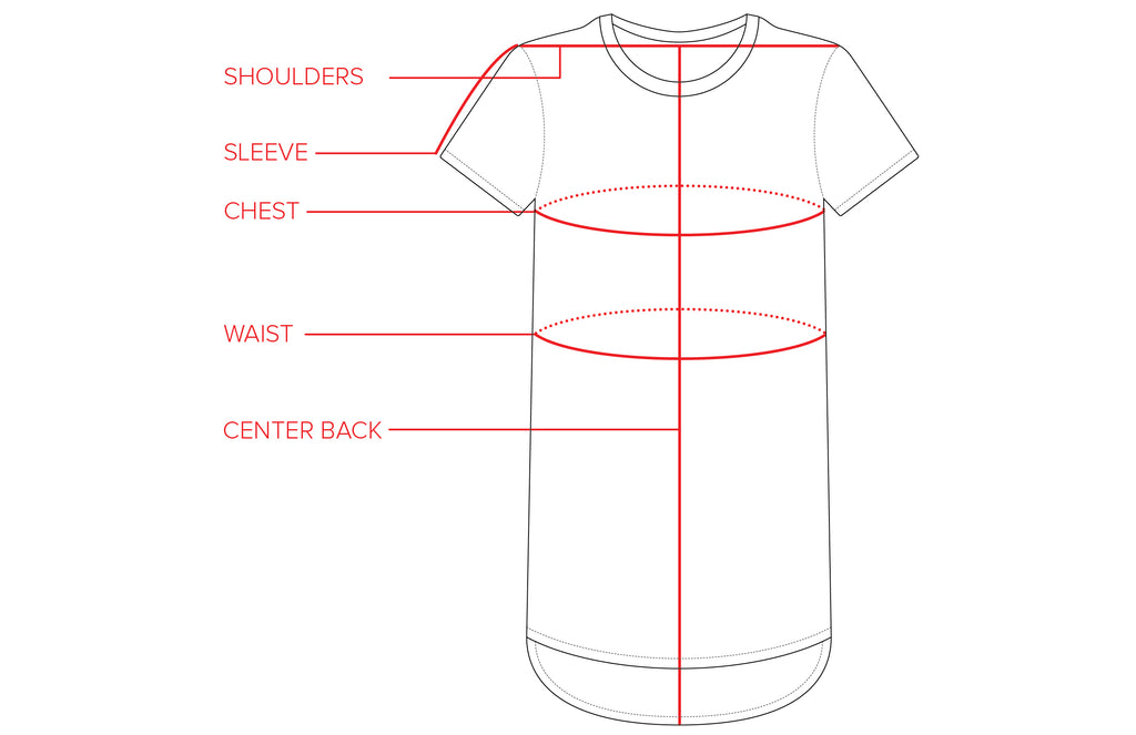 T-shirt Dress Size Guide