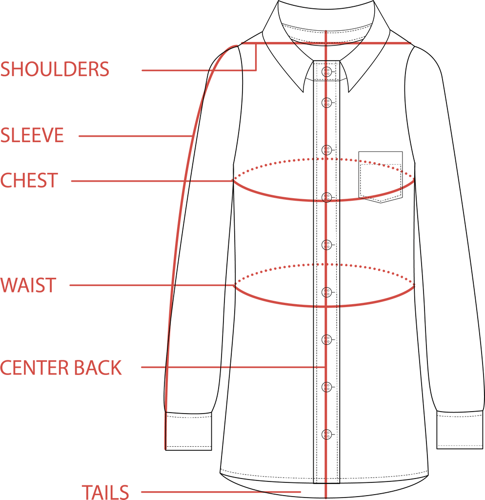 Tunic Size Guide | Tradlands