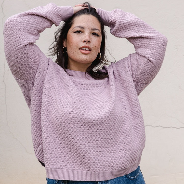Pullover Sweater | Jude Pullover Sweater Lilac