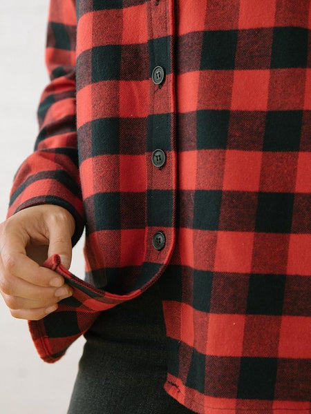 Tradlands | 111 Arapahoe Red Flannel | Photo Gallery Image