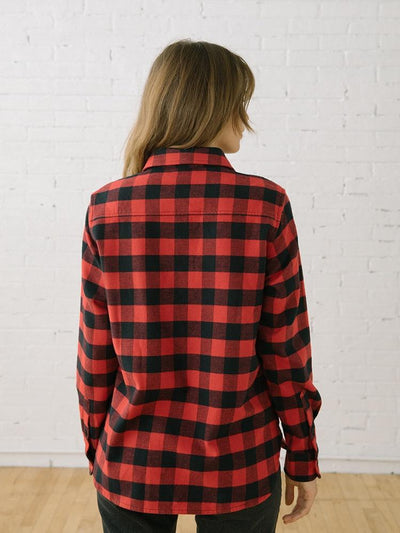 Flannel Shirts for Women | 111 Arapahoe Red Flannel