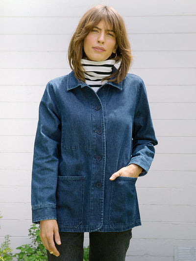 Jackets Coats for Women | Field Chore Coat Classic Denim