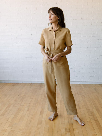 Jumpsuits Rompers for Women | Finn Jumpsuit Sand