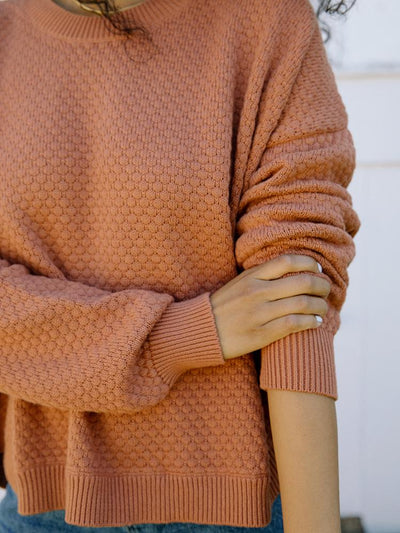 Pullover Sweater | Jude Pullover Sweater Sepia