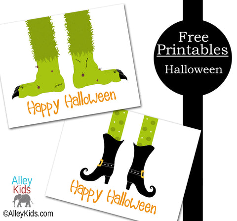 photograph about Printable Halloween Card titled Totally free Printable Playing cards for Halloween Alley Young children : Childrens