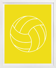 Volleyball art, childrens art, sports art