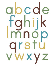 Alphabet Poster Lower Case
