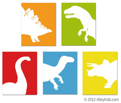 Dinosaur Nursery Art Prints