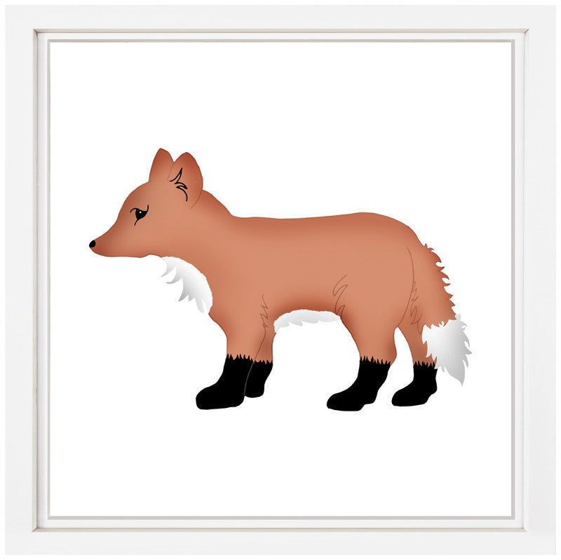 Fox Nursery Art