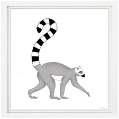 Lemur Nursery Art