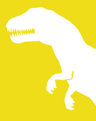 Dinosaur Nursery Art, T Rex, Childrens art