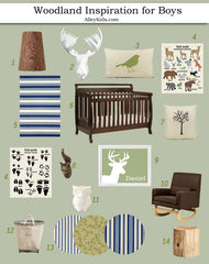 Woodland Nursery Design Board