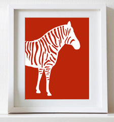 Zebra Nursery Art