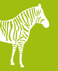 Zebra Nursery, Jungle Nursery Art