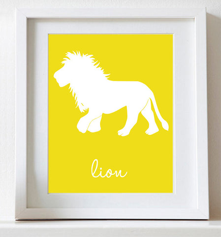 Lion, Art for Nursery