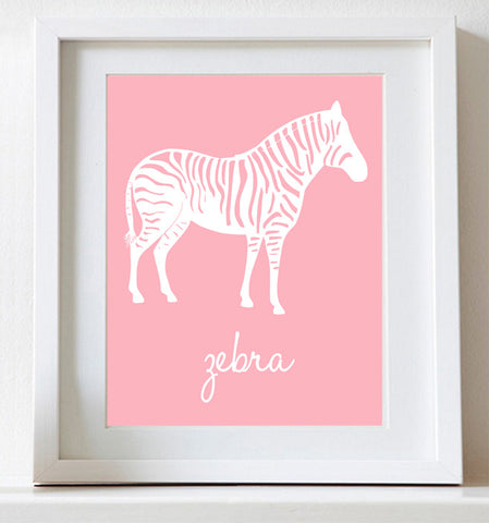 Zebra, Art for Nursery