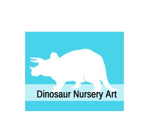 Dinosaur Nursery Art