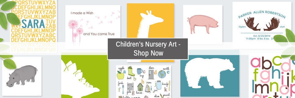 Children's Nursery Wall Art