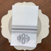 Monogrammed Bistro Napkin - Set of Four