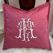Monogrammed Toss Pillow