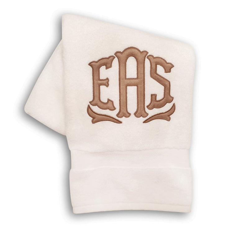Applique Bath Towel