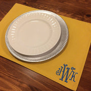 Monogrammed Duck Canvas Placemats (set of four)