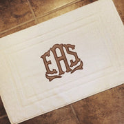 Applique Bath Mat