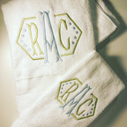 Monogrammed Towel Set