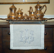 Monogrammed Table Runner