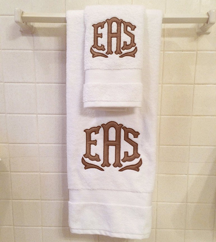 Applique Towel Set