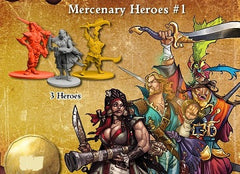 Rum & Bones Mercenary Hero Set #1