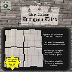 "Dry Erase 5"" Dungeon Tiles"