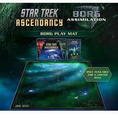 Star Trek: Ascendancy – Borg Assimilation Playmat