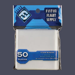 70 x 70 mm FFG Blue: Square Card Sleeves - 50 ct