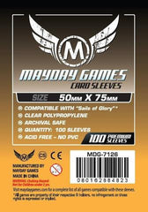 50 x 75mm MDG Card Sleeves - Sails of Glory