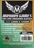 55 x 125mm MDG Card Sleeves - Tiny Epic Kingdoms