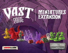Vast: The Crystal Caverns – Miniatures Expansion