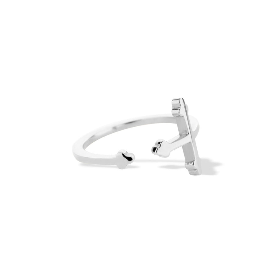 Cross Your Fingers Ring - Sterling Silver