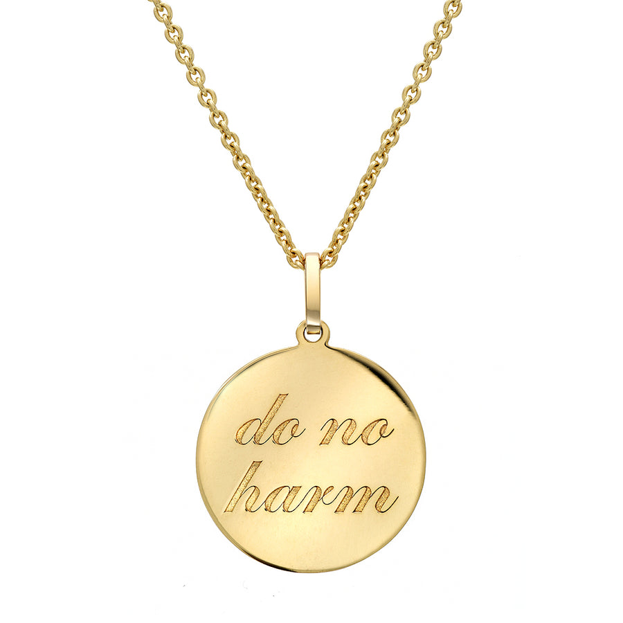 do no harm Medallion