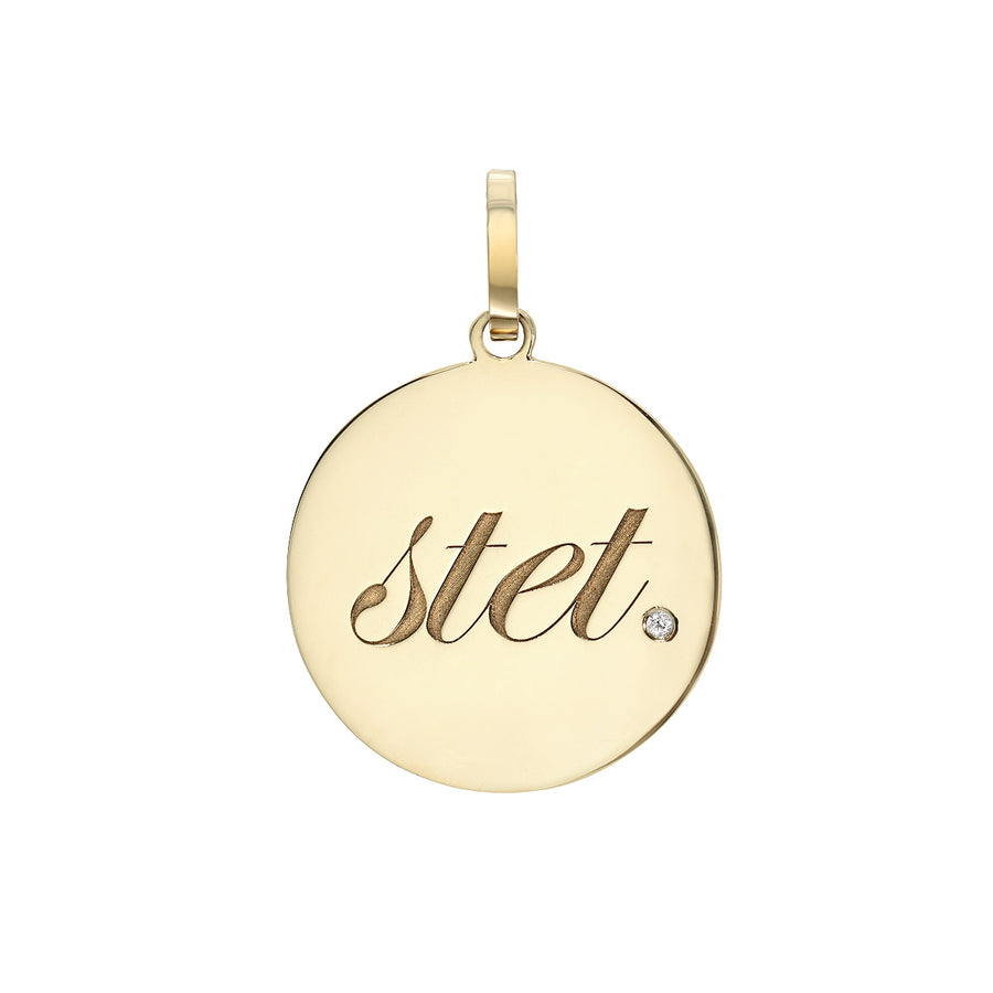 stet. Medallion