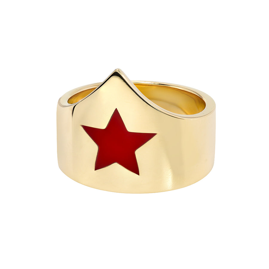 Wonder Woman Crown Ring