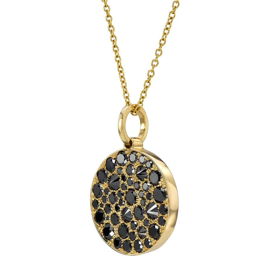 Hope Medallion w/ Black Diamonds