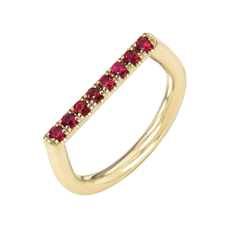 Stacking Square w/ Rubies