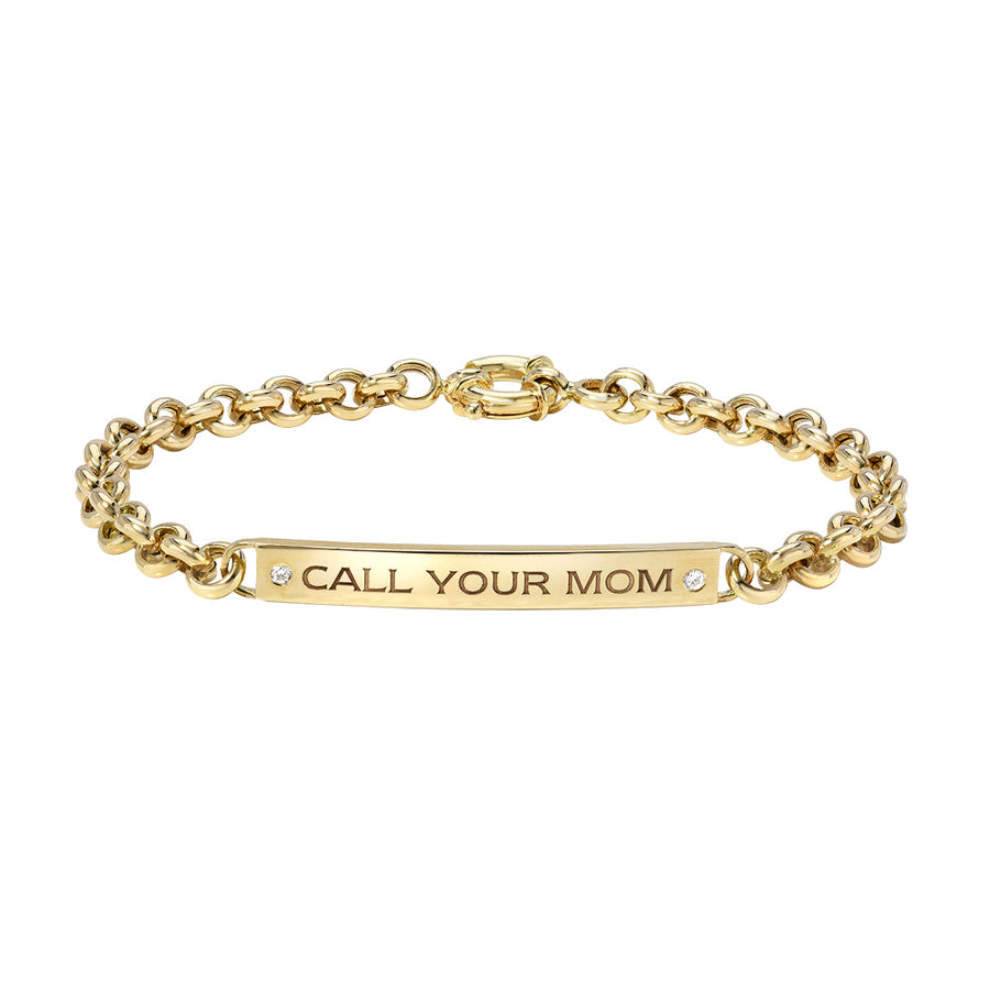 Ronnie (Call Your Mom) ID Bracelet