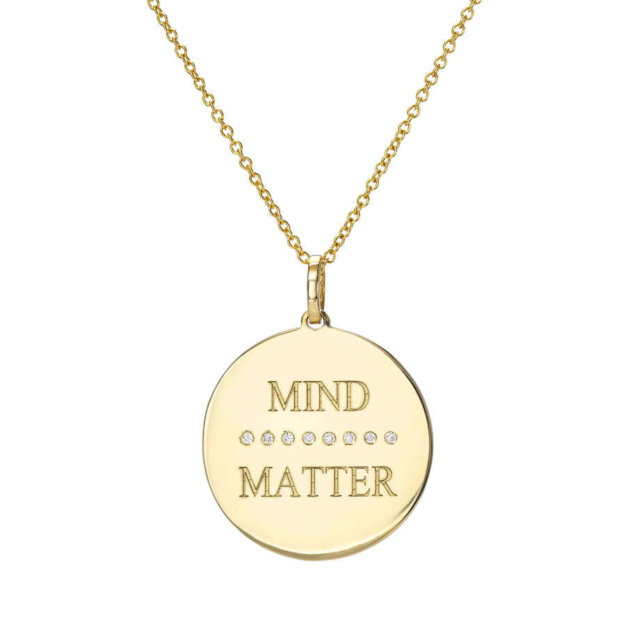 Mind (over) Matter Medallion